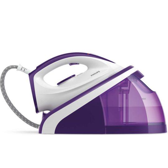 PHILIPS Centrale vapeur - HI5919/30 - Blanc/Violet