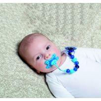 Difrax - attache Sucette Perles Bleu