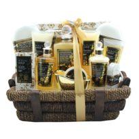 Coffret cadeau coffret de bain premium parfum de musc et fleurs blanches - 14pcs
