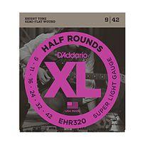 D'Addario - Ehr320 Half Rounds Super Light 9-42