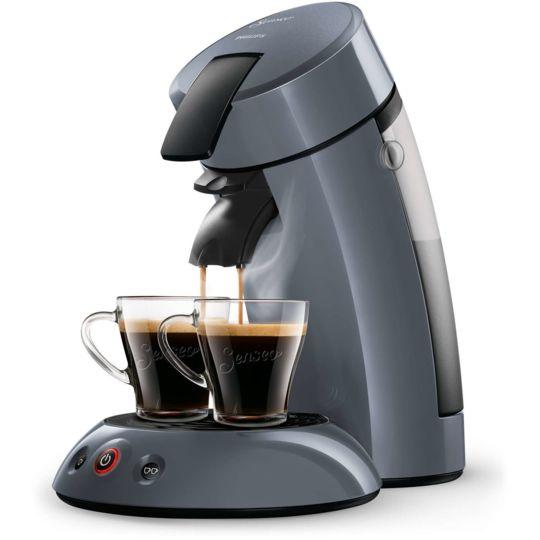 PHILIPS Machine à café à dosettes Senseo - HD7806/51 - Bleu mystique