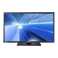 Samsung - 6 Series S24C650MW - Écran Led - 24'' - 1920 x 1200 - Ad-pls - 250 cd m2 - 1000:1 - 5 ms - Dvi-d, Vga - haut-parleurs - noir mat