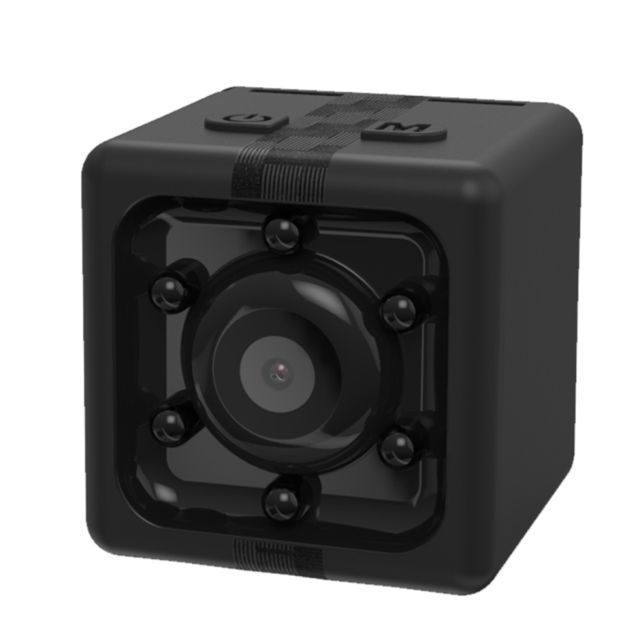 wewoo mini cam ra de surveillance noir 1080p enregistreur hd mini cube smart camera avec. Black Bedroom Furniture Sets. Home Design Ideas