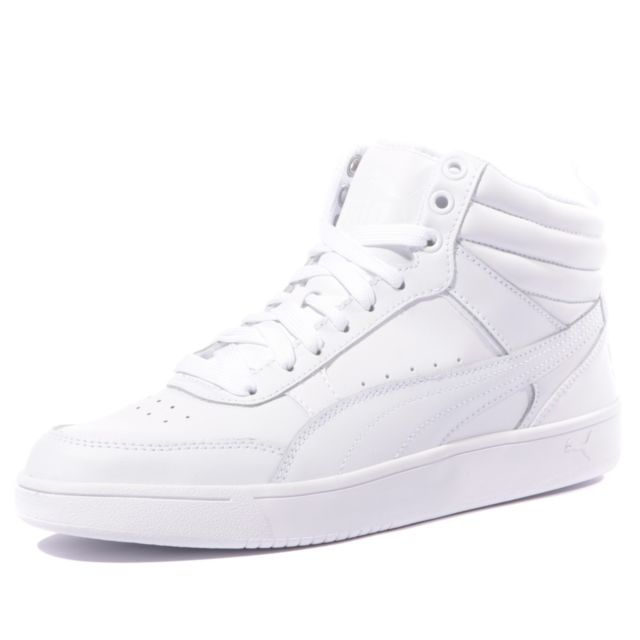 chaussure homme blanche montante puma