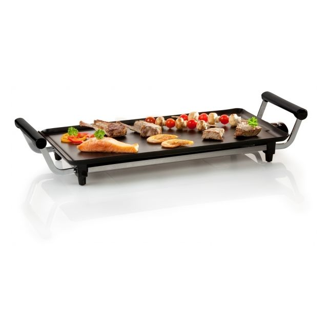 Domo Teppan Yaki - Plancha grill - Plaque de cuisson aluminium 1800W