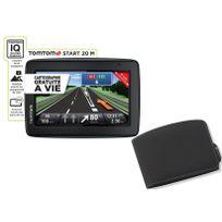 TOMTOM - Pack GPS + Housse Start 20 Europe 48 Pays - Noir