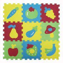 Ludi - Dalles en mousse Basic : Fruits