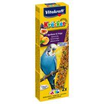 Vitakraft - Kräcker Abricot Figue pour Perruches x2