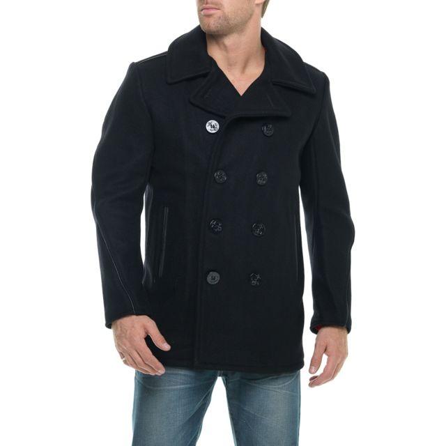 Schott manteau caban 740c navy pas cher achat vente manteau homme rueducommerce - Schott cuisine ...