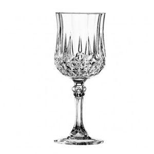 eclat verre pied vin 17cl lot de 6 longchamp pas cher achat vente verre vin. Black Bedroom Furniture Sets. Home Design Ideas