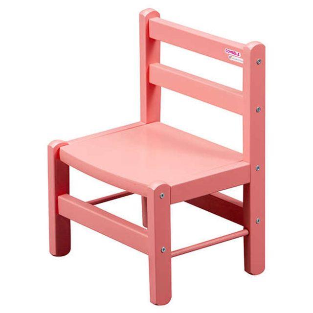 Combelle Chaise Enfant - laqué rose