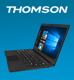 THOMSON 13,3'' Full HD IPS - Intel Celeron N3350 - eMMC 32 Go - RAM 4 Go - Intel HD Graphics - Windows 10
