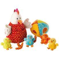 Lilliputiens - Ophélie la poule et ses poussins