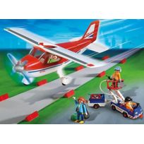 Playmobil - City Action 9369 Avion rouge