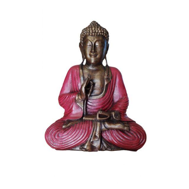 wlm statue bouddha tha landais 30 cm pas cher achat vente encens rueducommerce. Black Bedroom Furniture Sets. Home Design Ideas