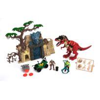 Chap Mei - Coffret Dino Valley : Temple, figurines et accessoires