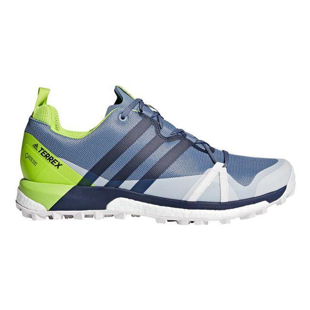 Gris Gtx Lime Chaussures Pas Agravic Cher Adidas Terrex Vert AR543jL