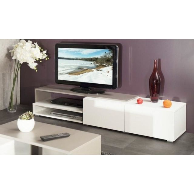 meuble tv taupe. Black Bedroom Furniture Sets. Home Design Ideas