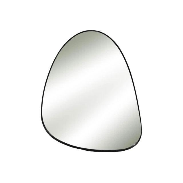 Pomax Miroir ovale irrégulier en métal Codol - S