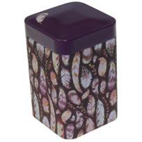 Eiger - Petite boite métallique pour le thé Contenance 100 gr Plumes