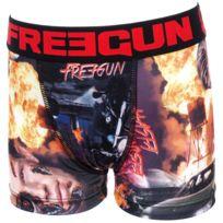 Freegun - Sous vêtement boxer Ter noir/rouge boxer jr Noir 31130