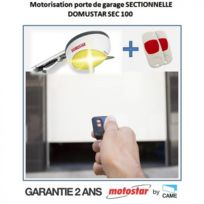 MOTOSTAR - Motorisation porte de garage sectionnelle by Came Domustar Sec100