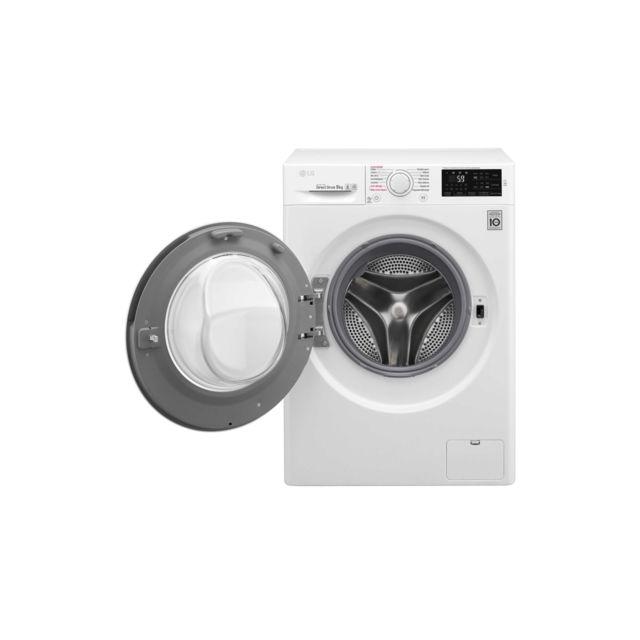 LG Lave-linge - F94J53WH - Blanc