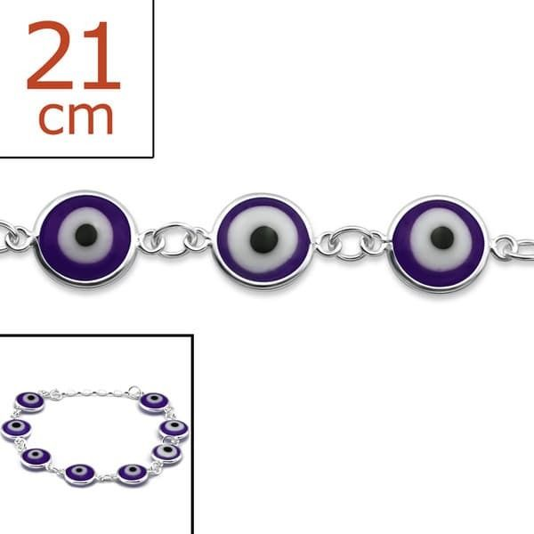 Sochicbijoux - So Chic Bijoux © Bracelet Protection Mauvais Oeil Argent 925 74badc6ba673