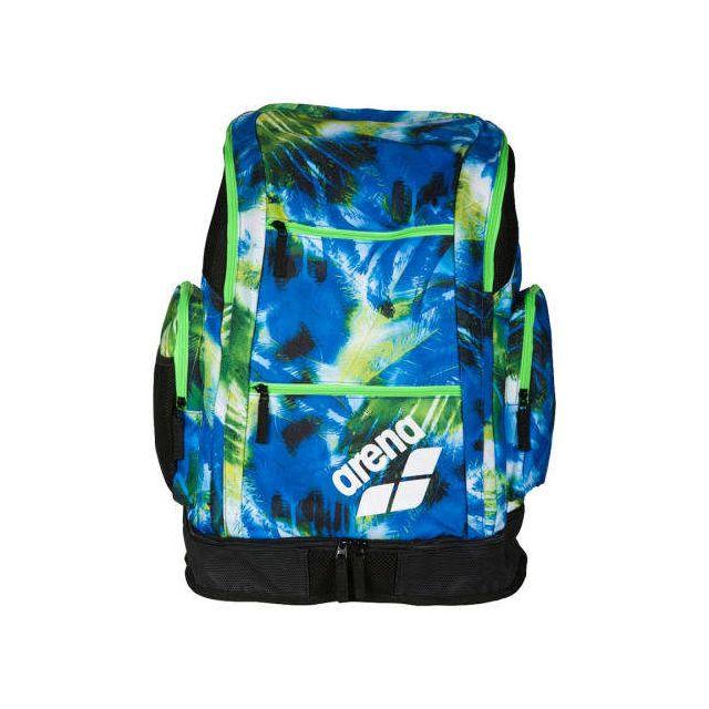 f1c834f505e404 Arena - Sac à dos de natation Arena Spiky 2 Large BackPack Ao bleu vert