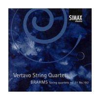 Simax - Brahms : Quatuors à cordes. Vertavo
