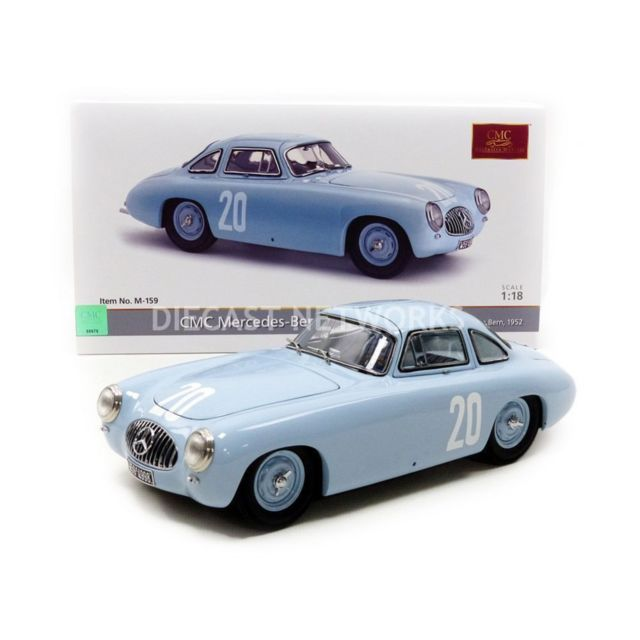 cmc 1 18 mercedes benz 300 sl grand prix de bern 1952 m 159 pas cher achat vente. Black Bedroom Furniture Sets. Home Design Ideas