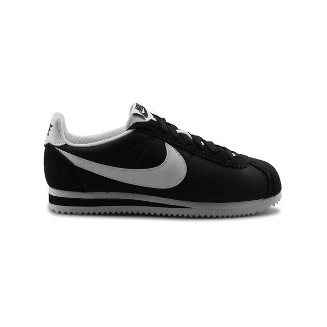 new concept e61ed 10e05 Nike - Wmns Classic Cortez Nylon Noir - pas cher Achat   Vente Baskets femme  - RueDuCommerce