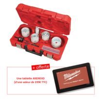 Milwaukee - Coffret scies cloches 49224102 + une tablette tactile ANDROID OFFERTE 4939596813