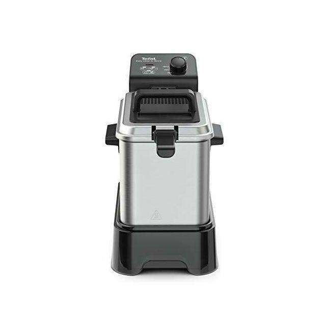 Tefal Easy Clean & Store Friteuse jusqu'à 1 kg de nourriture/3,5 L d'huile 190 C Argenté/noir