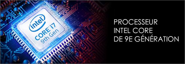 Processeur Intel Core i7 9th