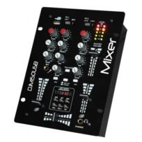 Ibiza Sound - Table De Mixage A 2 Voies / 5 Canaux Avec Usb-mp3 + Afficheur Digital
