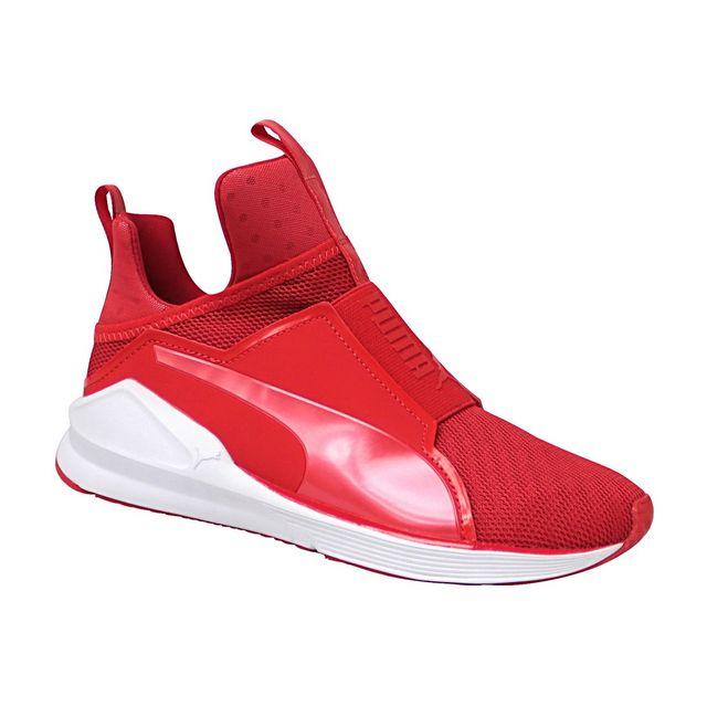 basket rouge femme puma