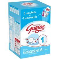 Guigoz - Lait en poudre 1er Age Bag In Box 2x500g