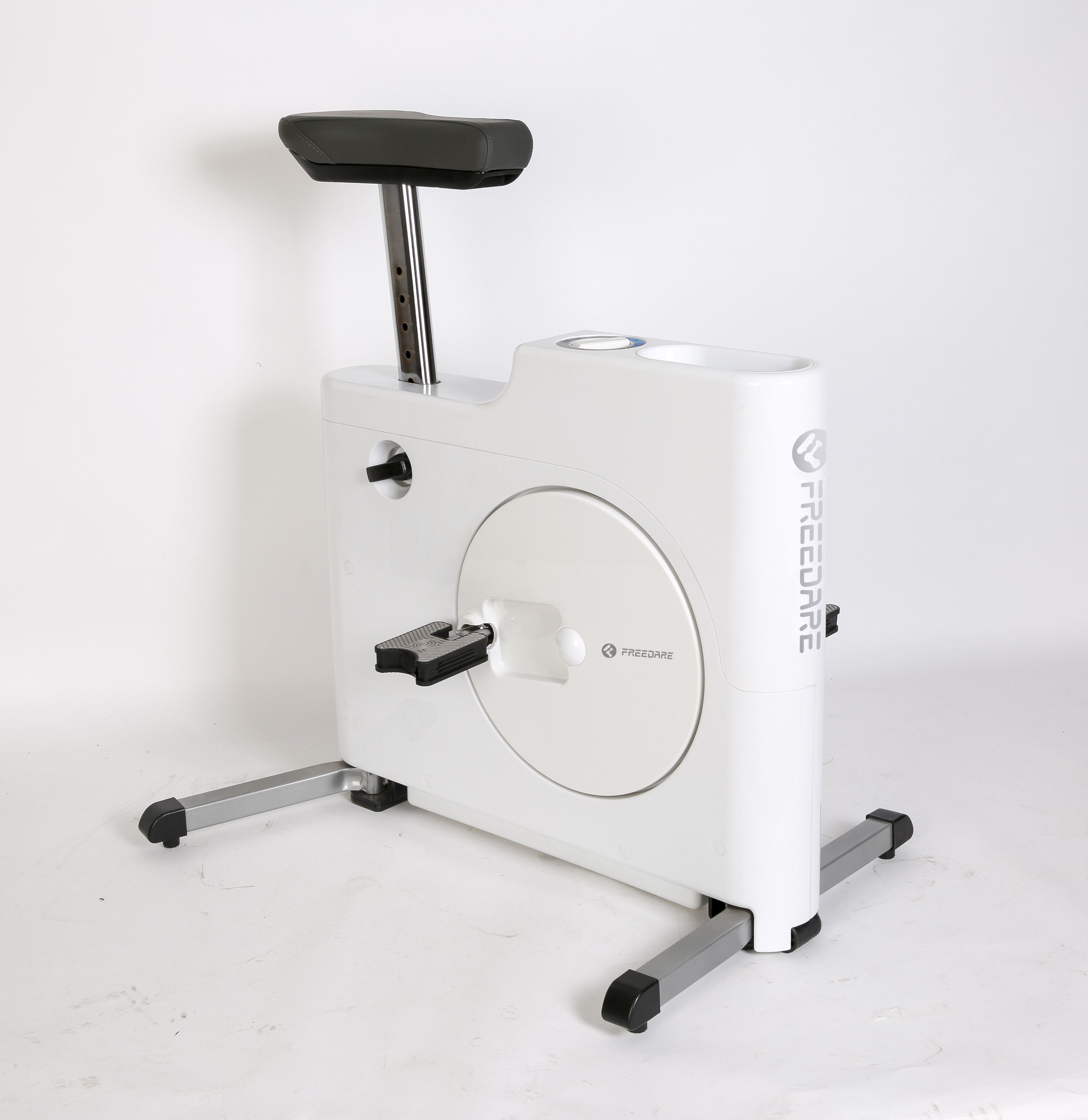 Vélo d'appartement Easy Fitness - Blanc - OD045533