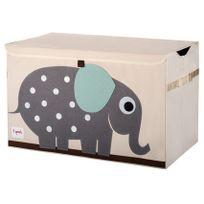 3 Sprouts - Coffre à jouets Mes animaux préférés Eléphant
