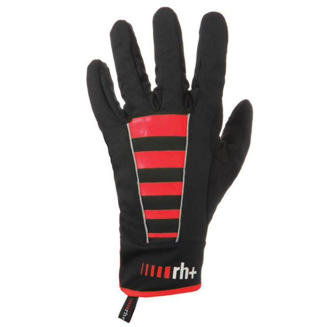 Zerorh Zero Rh Code Soft Shell Glove Noir Et Rouge Gants vélo hiver