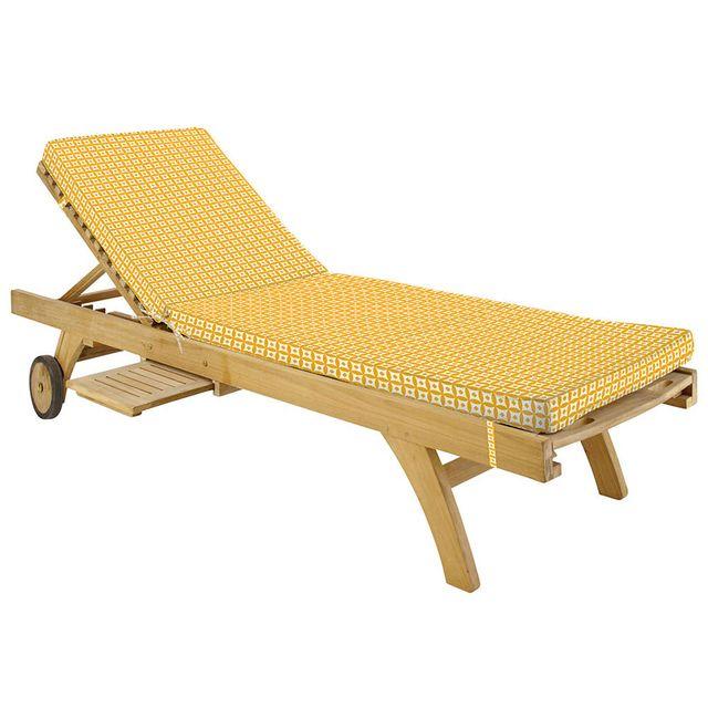 lovely casa coussin bain de soleil 180x55x4cm mahari mimosa pas cher achat vente coussins. Black Bedroom Furniture Sets. Home Design Ideas