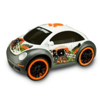Toystate - Road Rippers : Dancing Car : Volkswagen Beetle blanche