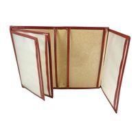 Chaussmaro - Etui Porte Carte Grise de protection pour permis et Papiers de Voiture en cuir