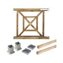 Cemonjardin - Portillon kit en bois Bégonia à fixer