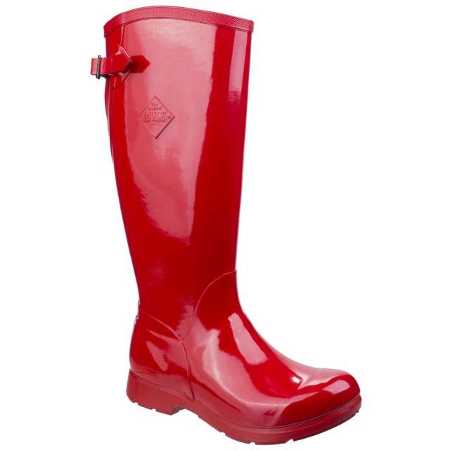de Utfs5260 Muck Boots pluie 3839 Bottes Tall EurRouge Femme Bergen v8nw0mN