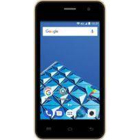 Konrow - Easy One - Smartphone Android - 4G - Ecran 4'' - Double Sim - 8Go, 1Go Ram - Noir
