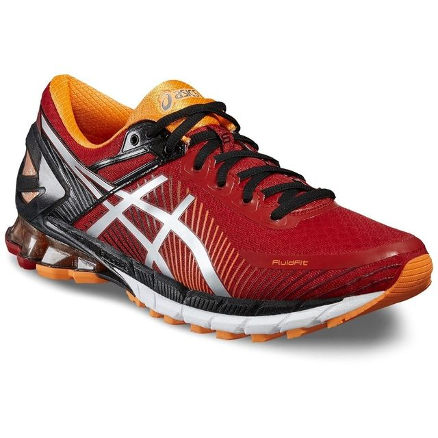 Asics - Gel-Kinsei 6 T642N-2393 Homme Baskets Rouge 49 - pas cher Achat    Vente Chaussures running - RueDuCommerce d3cade2bc1fc