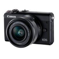 CANON - Appareil photo hybride noir M100 15-45