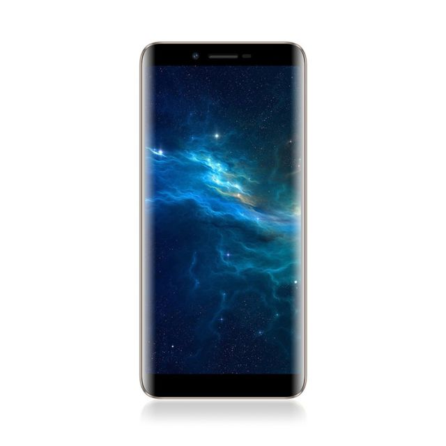 Auto-hightech Smartphone quad-core avec android 7.0, 3G, Wifi - Or